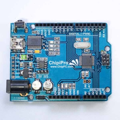 ChipiPRO (Arduino do ChipFC sản xuất)